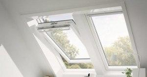 White Velux frame finish1