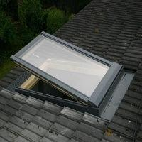 White Velux frame finish2